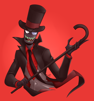 .: Black Hat :. by IronicalGhosty