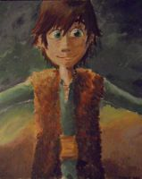 Hiccup Painting - Alright buddy~ by Hukkis