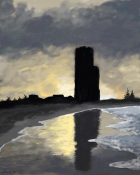 Speedpainting - Palm Beach by Daviegunn