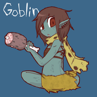 Goblin girl by buchi0122