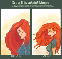 Draw Again Meme by deimlacquer