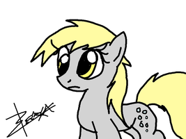 Derpy - First Tablet drawing by Xeirla