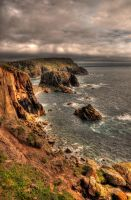 Cliffs of Cornwall by panRobus