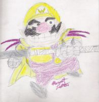 Warrior Wario by Lady-of-Link