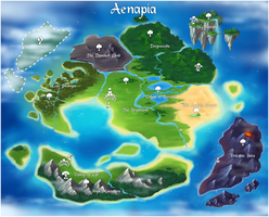 Aenapia Map - Katakit Update released! by Kamirah