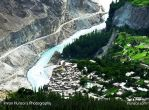 Altit Frot and the Hunza River by ihunzai