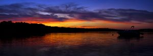 Vibrant Sunset on the Bay I by xDx