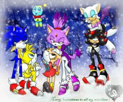 Merry Christmas 2010 by Fantailed-Hedgehog
