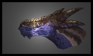 Dragon - Speed Painting by Wolfgan