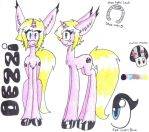 Dezzi Hooves Reference Sheet by GingerBaconCookies