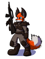 Space Marine Fox Android by Virmir