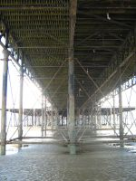 Under the Pier by angelofmusicuk