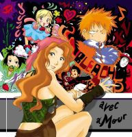 Bleach -  All colour but The Kurosaki (?!) by Blychee