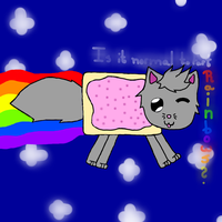 Nyan cat by Dark--Ruler