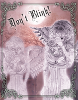 Weeping Angel Halloween ID by MonochromeReflection