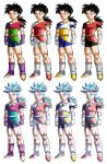 DBZ Commission Colour Trials by moxie2D
