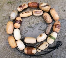 Ogham beads by SpiritOfOld