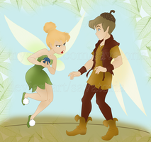 Tinkerbell and Terence by Savatoria
