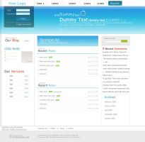 Blog Theme web 2.0 by nomzz