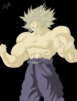 Broly by Taurimaru