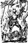 Deadpool inks by Dave-Acosta