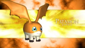 Patamon 3d by me by EAA123