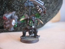 Warhammer 40000 miniature painting Ork Boyz #1-2 by SelloCreations