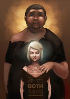 Poster Heroes - We Are Both Starving by riordan-j-flynn
