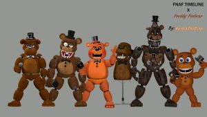 Freddy Timeline (4k) by AustinTheBear