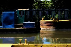 Canal Drifters by johnwaymont