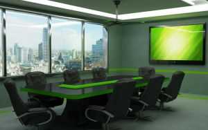Conference Room by giorgimech