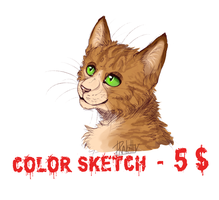 Open sketch comissions! by DraKitty