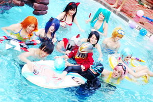 League of Legends Pool party - ZAC SURFBOARD!! by kitsune0978