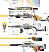 Phaser rifle by godstaff