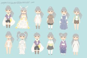 Let's play dress up! (With Lea!) by empressofcheese
