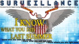 NSA Poster - I know what you did last summer by fatsoofree