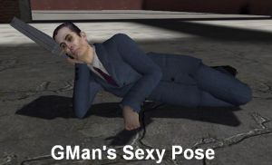 GMod: Gman's Sexy Pose by LolitaAm