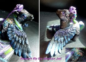 My little pony custom sunset fly by AmbarJulieta