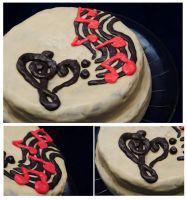 Music Cake by RawPoetry