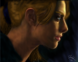 Jill Valentine by tinypurplewings