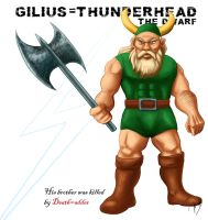 Golden Axe - Gilius Thunderhea by mat3w