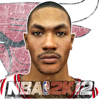 Derrick Rose NBA 2K12 by Archer120