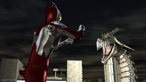 Ultraman Defends City 2 by AOGRAI