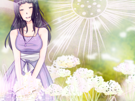 CCH: Amerin AND FLOWERS ALSO FLOWERS 009 by DustBunnyThumper