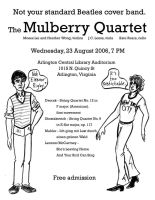 Mulberry Quartet - Beatles by mitya
