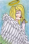 Praying Angel by DarkMysteryCat