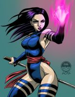 Psylocke - Xmen - FC Commish by EryckWebbGraphics