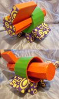 Abstract Box Sculpture by cyreneq