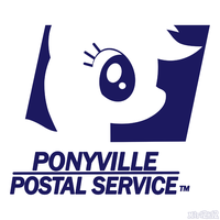 Ponyville Postal Service Logo by PrettyKitty