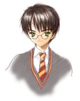 My early portrait : Harry by yukipon